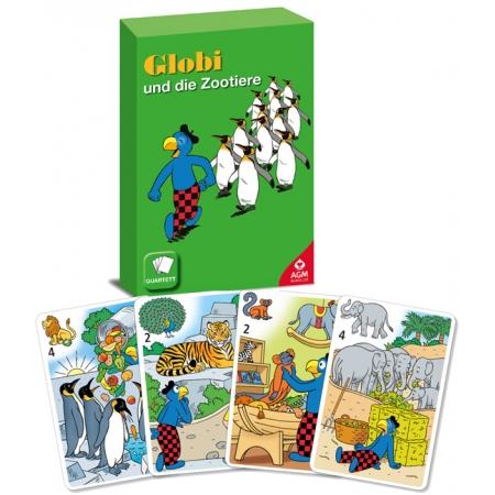 Globi und die Zootiere Quartett