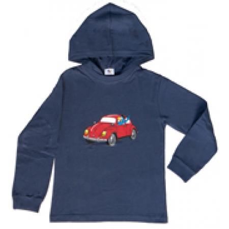 Globi Kinder Sweat-Shirt blue langarm