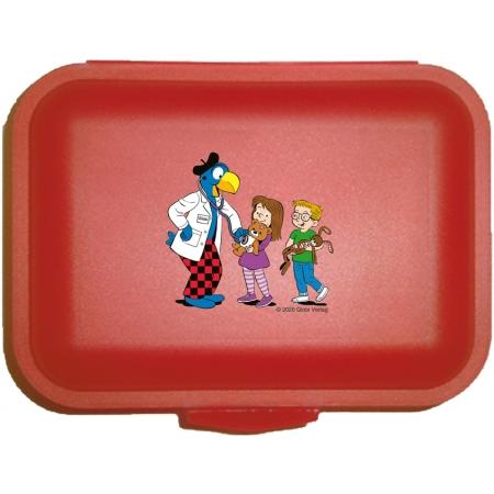 Globi Lunchbox Spital rot