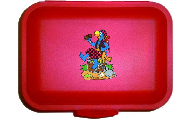 Globi Lunchbox Pirat rot