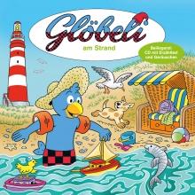 Glöbeli Pappe mit CD am Strand inkl. CD