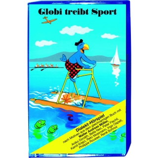 Globi treibt Sport