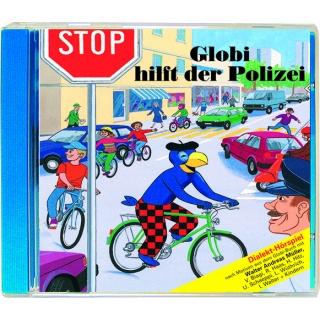 Globi hilft de Polizei
