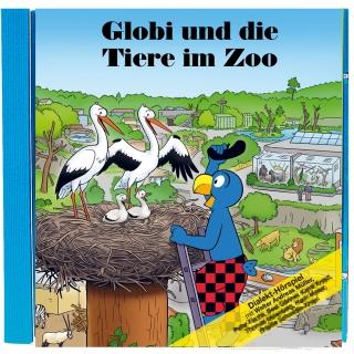 Globi und die Tiere im Zoo