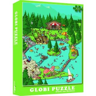 Globi Puzzle Heidsee