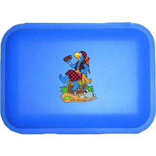 Globi Lunchbox Pirat blau
