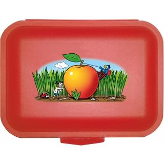 Globi Lunchbox der Forscher rot