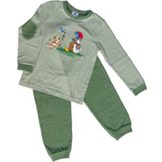 Glöbeli Kinder Pyjama olive