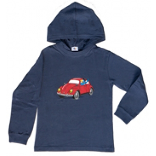 Globi Kinder Sweat-Shirt blue langarm