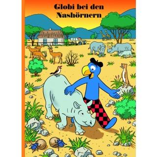 Globi bei den Nashörnern (75)
