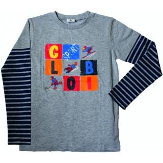 Globi Kinder Langarm T-Shirt