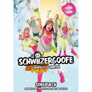 """Schwiizergoofe """"Songbuech Herbscht & Winter """""""