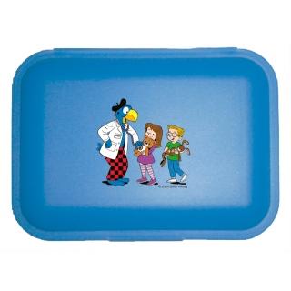 Globi Lunchbox Spital blau