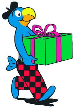 Globi Geschenke